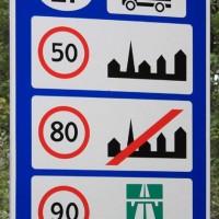 скоростной режим Литвы для грузовых машин