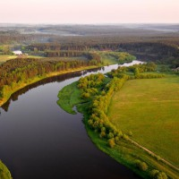 литва река